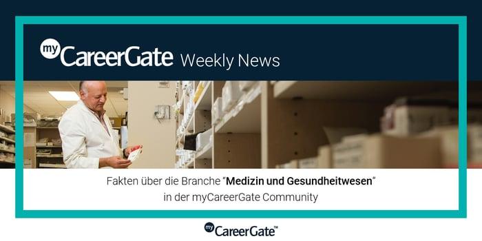 mCG_Weekly News_Medizin und Gesundheitswesen